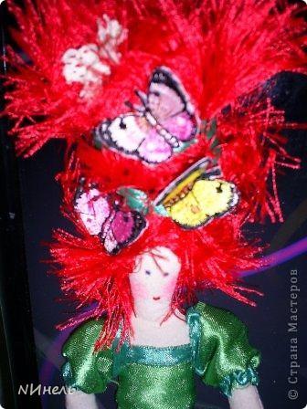 Вот такая ирландская феюшка была сшита в подарок на Новый Год очень жизнерадостному и позитивному человеку, которая обожает Ирландию и здорово прыгает ирландские танцы))) фото 7