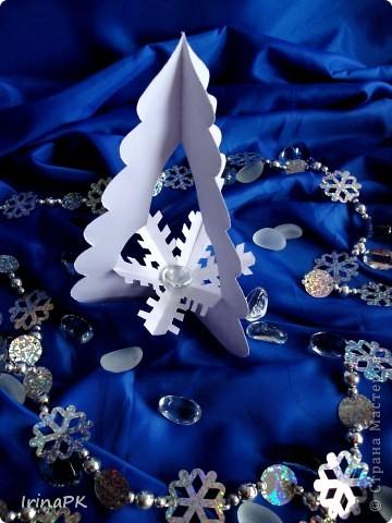 Внутри снежинка - место для подарка-сувенира. фото 7