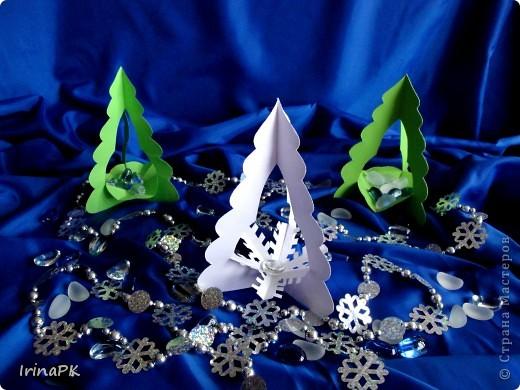 Внутри снежинка - место для подарка-сувенира. фото 6