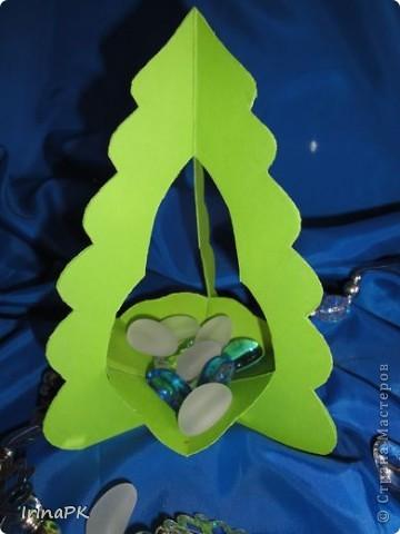 Внутри снежинка - место для подарка-сувенира. фото 5