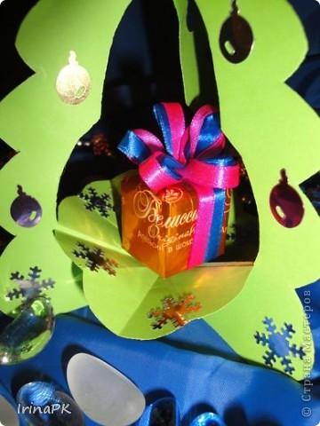 Внутри снежинка - место для подарка-сувенира. фото 4