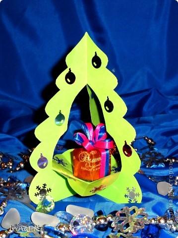 Внутри снежинка - место для подарка-сувенира. фото 2