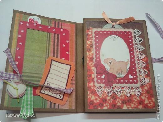 Два блокнотика в подарок девочкам. Они очень любят животных, а у одной есть собачка, поэтому тематика выбрана про собачек. фото 3