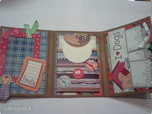 Два блокнотика в подарок девочкам. Они очень любят животных, а у одной есть собачка, поэтому тематика выбрана про собачек. фото 5