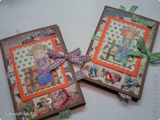 Два блокнотика в подарок девочкам. Они очень любят животных, а у одной есть собачка, поэтому тематика выбрана про собачек. фото 1