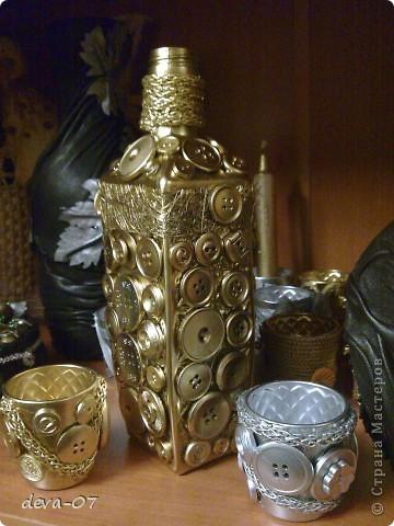 бутылочка-вазочка № 1 фото 2