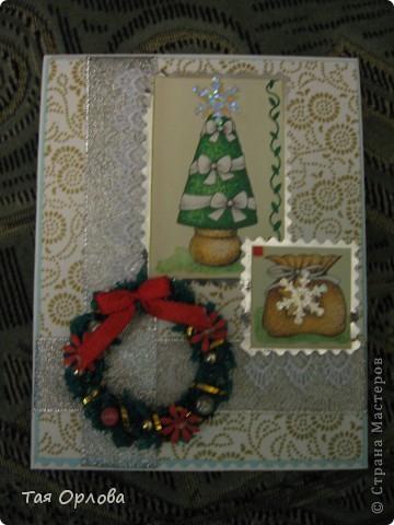 Подготовка к Новому году идет полным ходом.Накопилось уже открыток всяких. фото 3