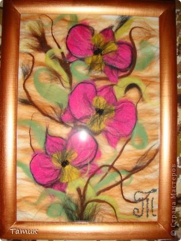 Пыталась сделать орхидеи фото 2