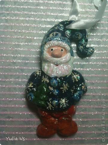 вот еще  немножко рождественских ёлочных игрушек))) фото 3