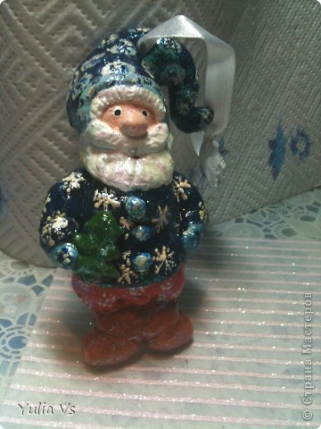 вот еще  немножко рождественских ёлочных игрушек))) фото 2