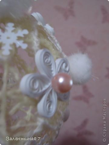 Новогодний шарик фото 5