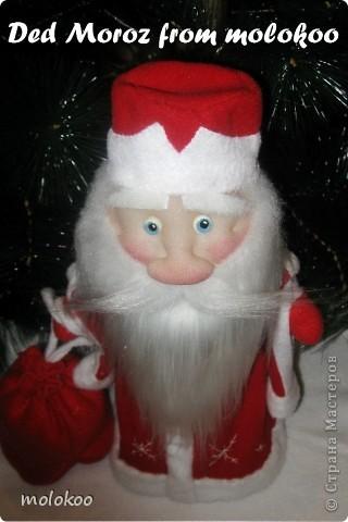 Даже если этот дедушка вам напоминает Айболита, это все-равно Дед Мороз!!! фото 4
