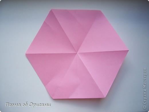 Правильный шестиугольник из квадрата фото 1