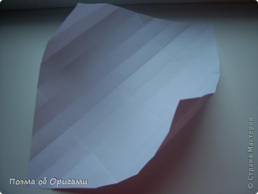 Красивая гофрировка из квадрата фото 10