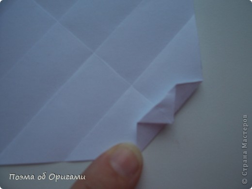 Красивая гофрировка из квадрата фото 11