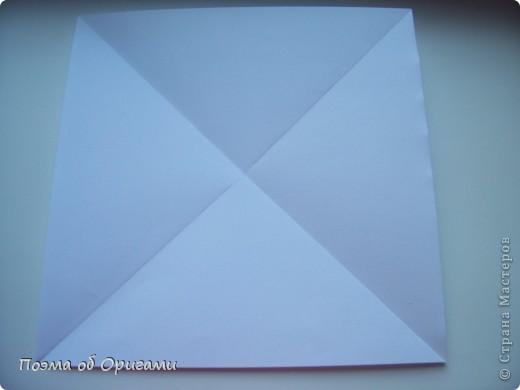 Красивая гофрировка из квадрата фото 2