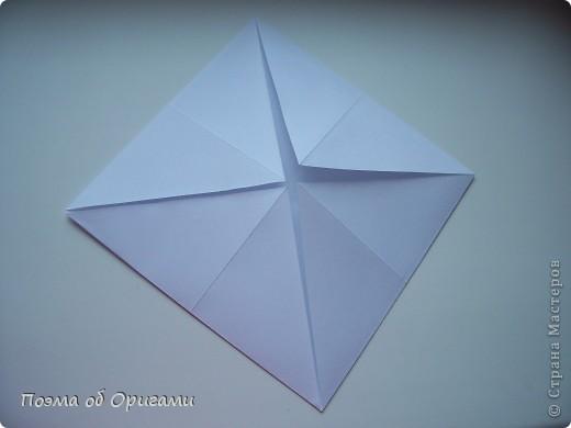 Красивая гофрировка из квадрата фото 3