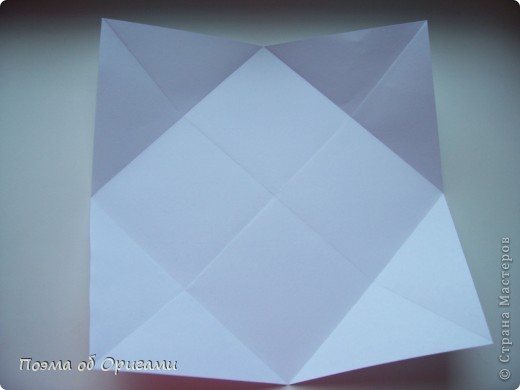 Красивая гофрировка из квадрата фото 4