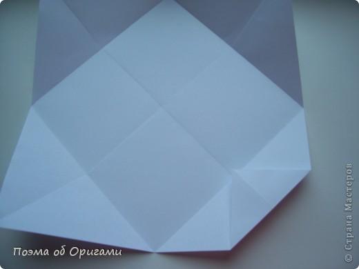 Красивая гофрировка из квадрата фото 5