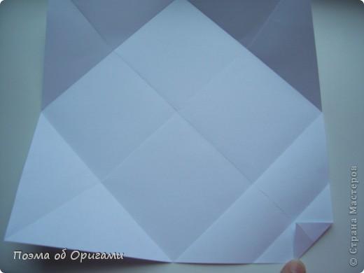Красивая гофрировка из квадрата фото 6