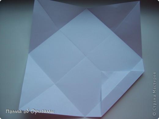 Красивая гофрировка из квадрата фото 7