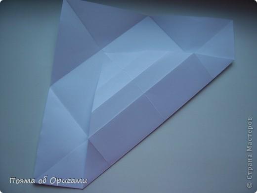 Красивая гофрировка из квадрата фото 8