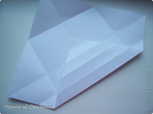 Красивая гофрировка из квадрата фото 9