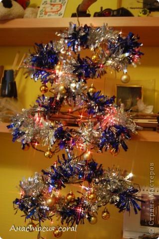 Для тех, у кого нет дома места для настоящей новогодней елки)