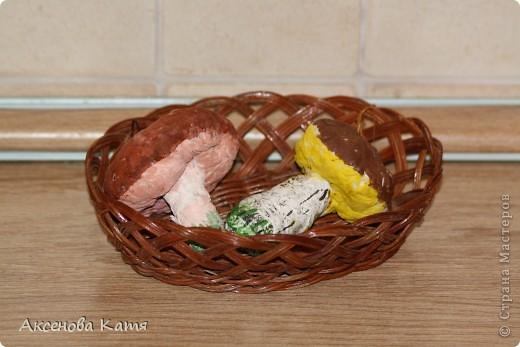 Грибы (украшение на ёлку или декор для кухни) фото 1