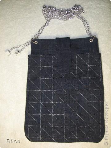 Сумочка из джинсы. фото 1