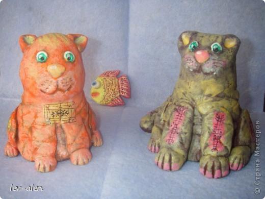 Парочка котиков, расписанных по МК Дианы, за что ей очередное большое спасибо. фото 9