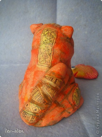 Парочка котиков, расписанных по МК Дианы, за что ей очередное большое спасибо. фото 3