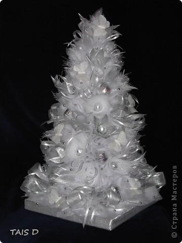 Новогодняя красавица с конфетами, высота 60см. фото 1