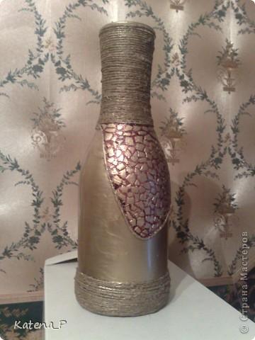 Вот такая получилась ваза - повторюшка! да простит меня автор, идея была взята вот здесь  http://stranamasterov.ru/node/118654?tid=851 фото 2