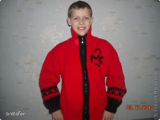 """Пуловер """"Трансформеры"""", вид спереди фото 1"""