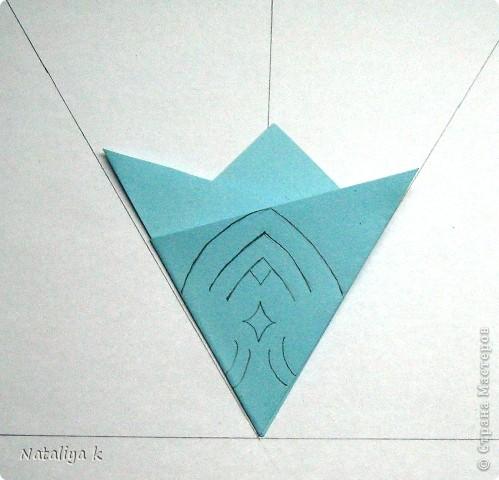 Снежинки-киригами мастер-класс фото 6