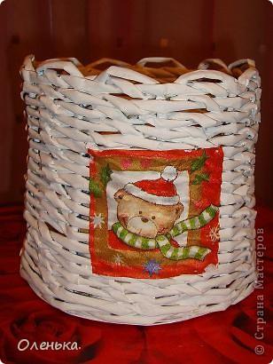 Плетение из газет. фото 2