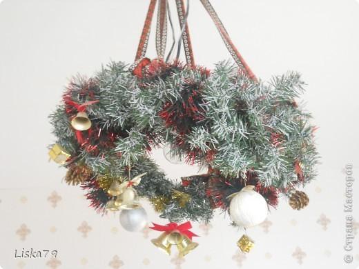 В Новогодние праздники использую его как абажур:)))