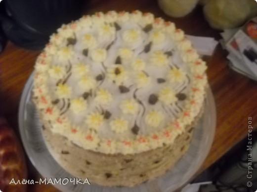 Этот торт я испекла для своего крестника. фото 3