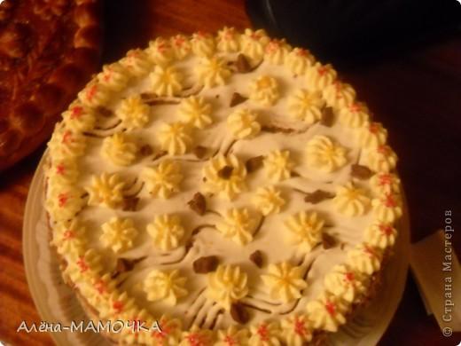 Этот торт я испекла для своего крестника. фото 4