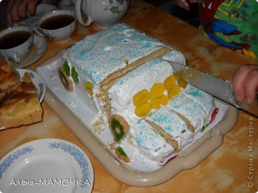 Этот торт я испекла для своего крестника. фото 2
