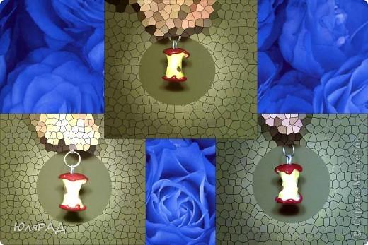 Решила сделать что-то необычное.............................рядом доченька ела яблочко...................идея родилась мгновенно))) фото 2