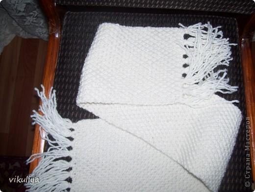 шарф с кисточками фото 2