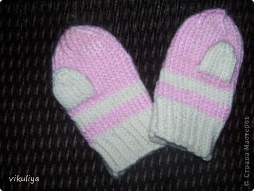 первые рукавички фото 1