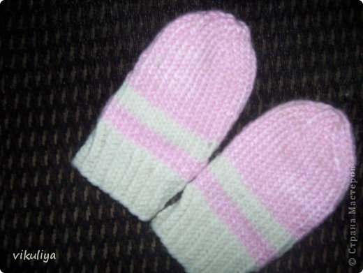 первые рукавички фото 2