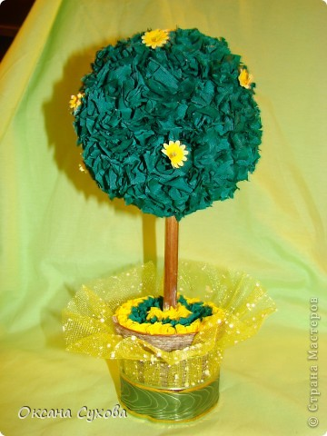 Бумажное деревце фото 1