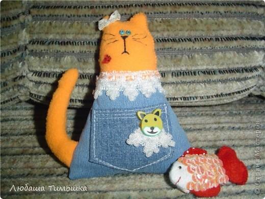 Котейки с кармашками фото 2