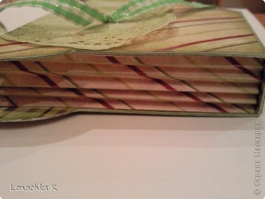 Кулинарная коробочка-блокнот (обещанный МК) фото 17