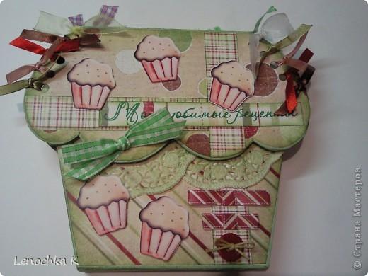 Кулинарная коробочка-блокнот (обещанный МК) фото 23