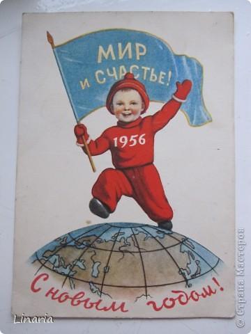 на днях разбирала новогодние открытки и решила поделиться с вами самыми старыми из моих запасов. Начну с двух старинных. Им почти 100 лет. Напечатаны в Германии (специально для России) в начале прошлого века. На почтовых штемпелях 1912 и 1913 г.г.Авторы рисунков не указаны. Эти открытки подарила моей бабушке ее подруга, когда им было по 10 лет, так что в нашей семье они храняться уже более 75-и лет. фото 4
